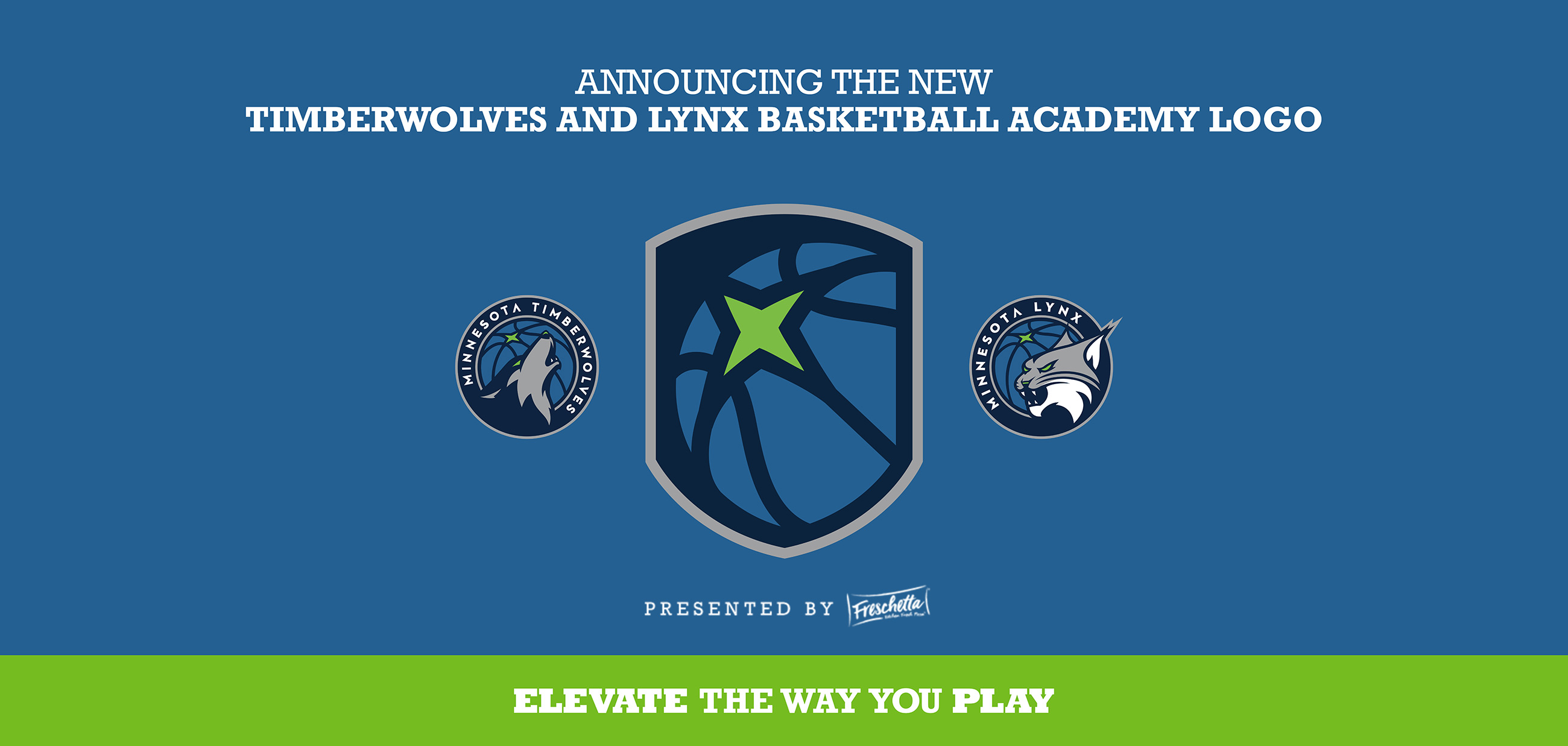 Timberwolves & Lynx Basketball Academy Rebrand