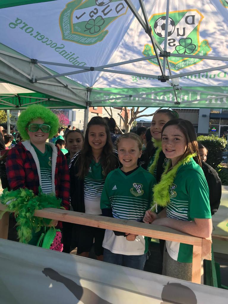 DUSL Celebrates St. Patrick's Day