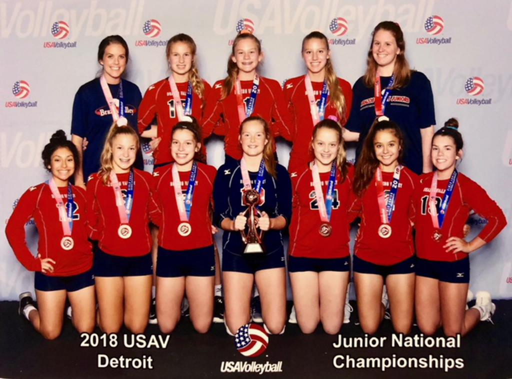 BVJ 14 National Earns Bronze Medal at USAV National Championships