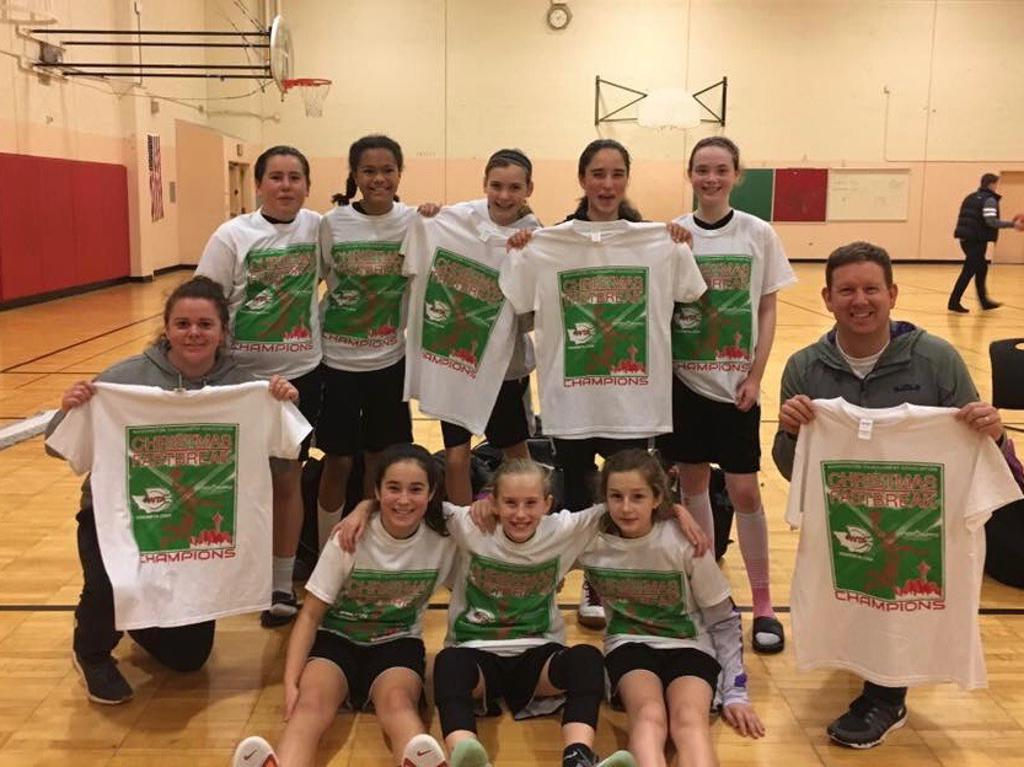 5th Grade Champs of Christmas Fastbreak Tournament