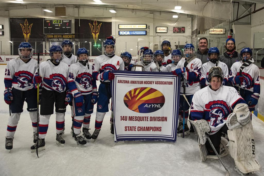 AZ Titans 14U Blue 2021 14U Mesquite State Champions