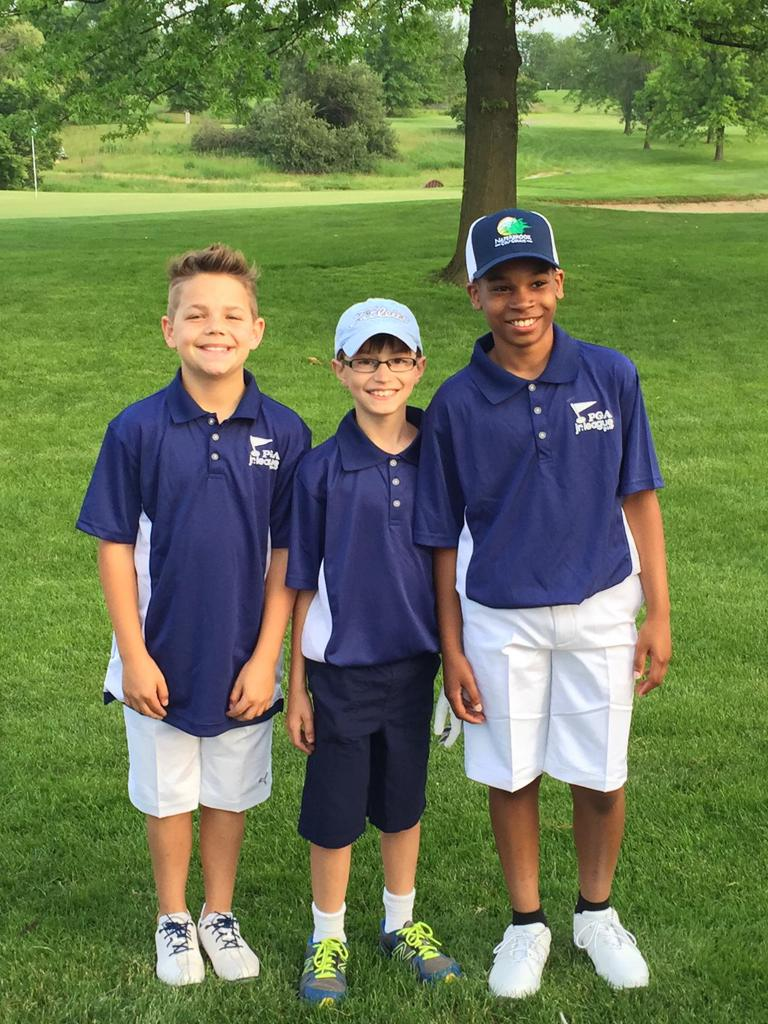 Luke's first year participating in PGA Jr. League.