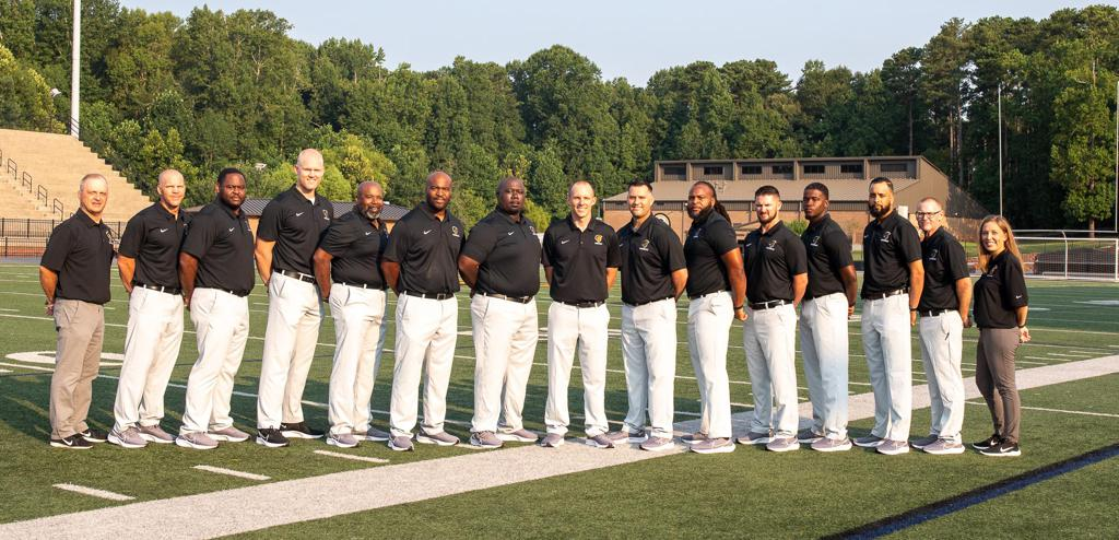 Varsity football coaches picture