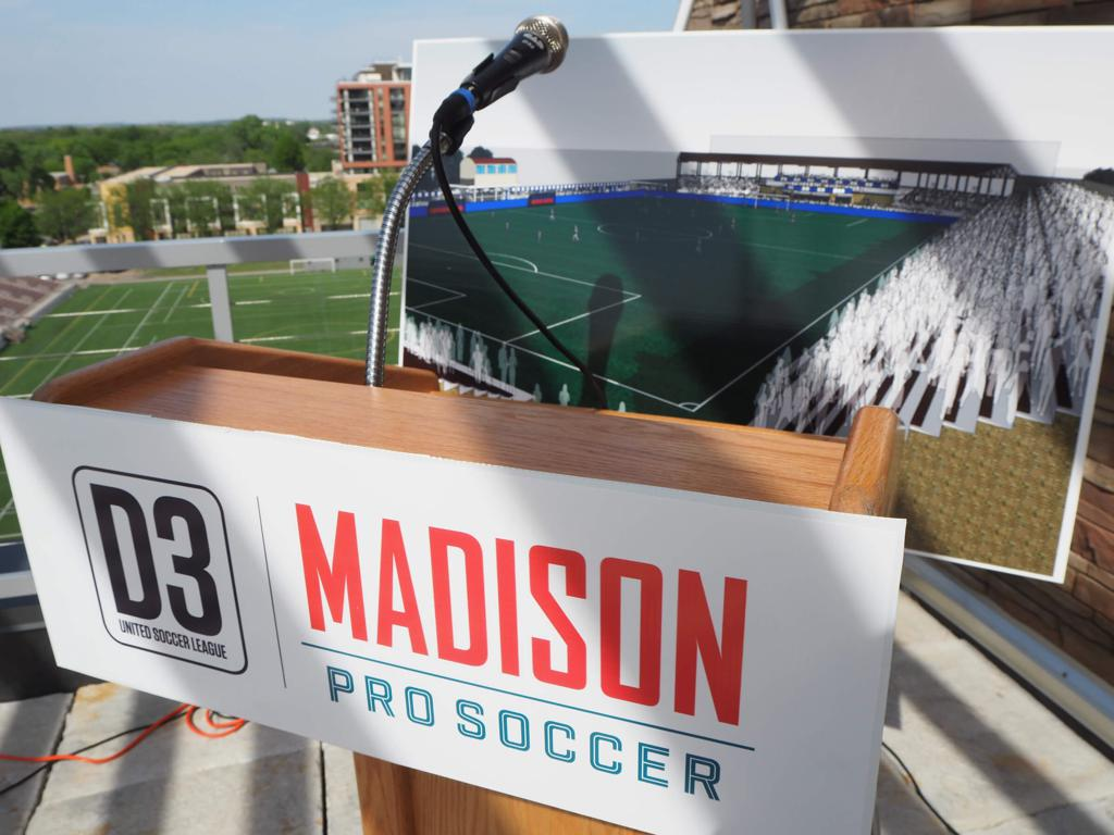 Madison Pro Soccer Updated Stadium