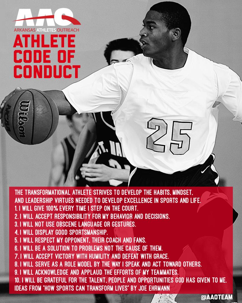AAO Athlete Code of Conduct