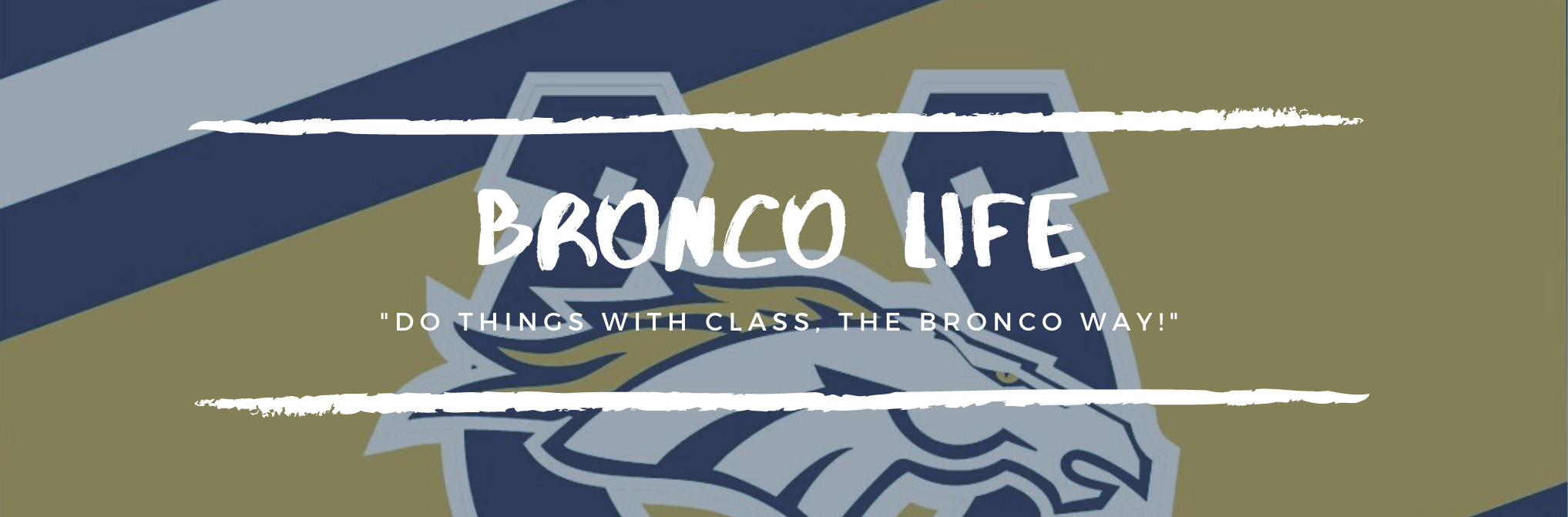 Bronco Life button