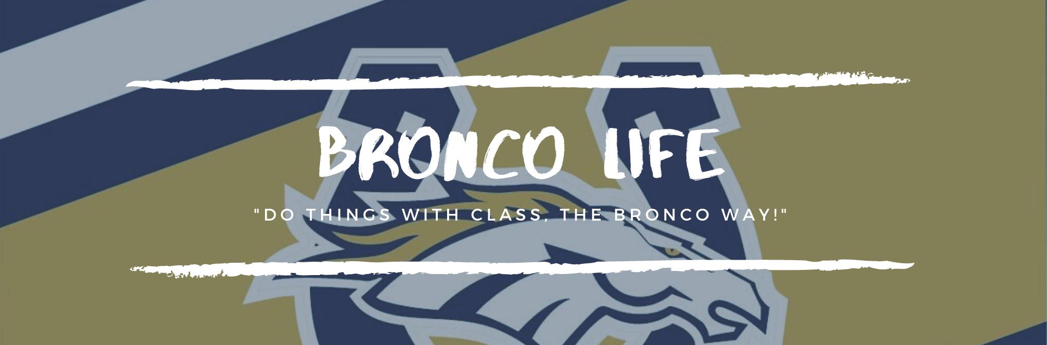 Bronco Life button