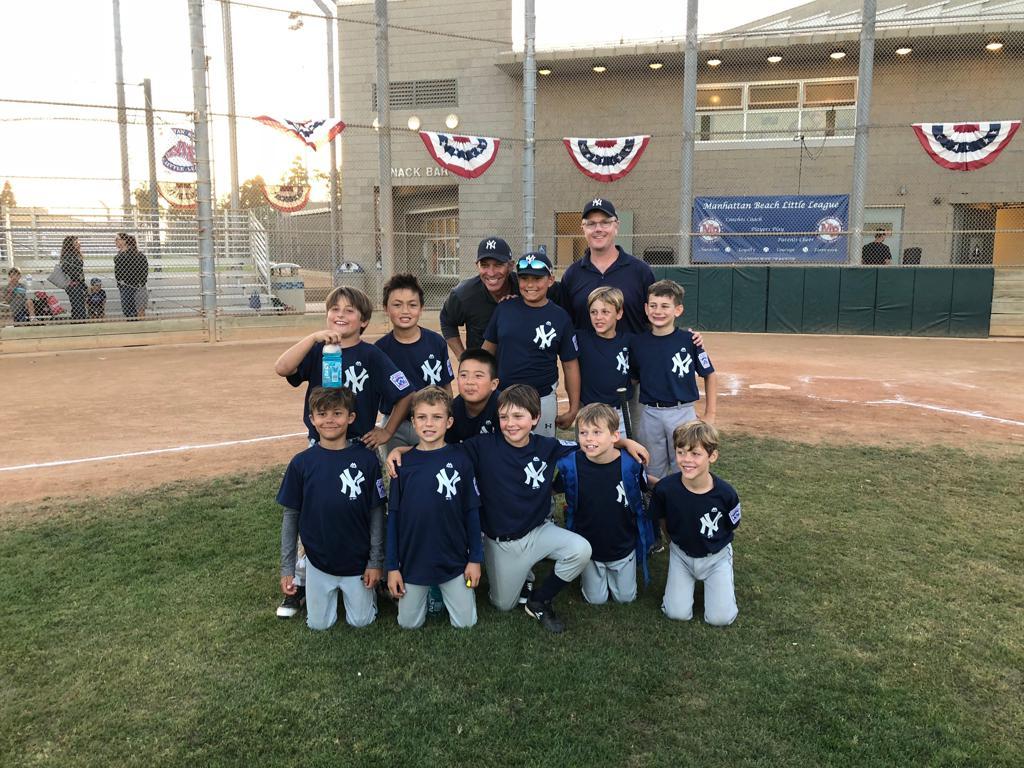 The Yankees, 2018 Coast Champions!