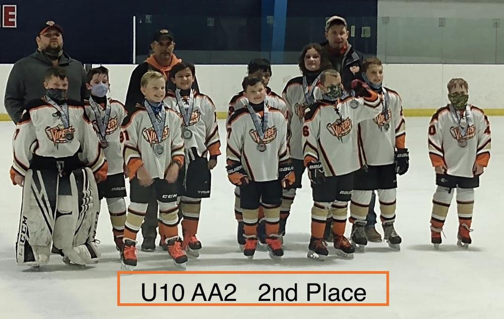 Spring U10 AA2 2nd Place