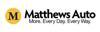 Sponsored by Matthews Auto