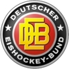 German ice hockey logo element view