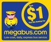 Sponsored by megabus.com - Official Express Bus Sponsor