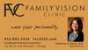 Sponsored by Family Vision Clinic