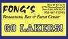 Sponsored by Fongs (Prior Lake)