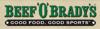 Sponsored by Beef 'O' Brady's