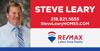 Sponsored by Steve Leary Remax Realty