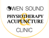 Owen sound physiotherapy acupunture clinic logo header element view