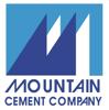 Mountain cement logo element view