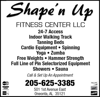 Sponsored by Shape'n Up Fitness Center