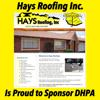 Sponsored by Hays Roofing Inc.