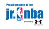 Jr nba logo element view