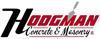 Hodgman logo element view