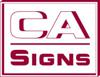 Sponsored by CA Signs
