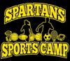 Sponsored by Spartans Sports Camp