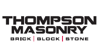 Sponsored by Thompson Masonry