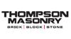 Sponsored by Thompson Masonry