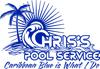 Chris s pool service logo 1c element view