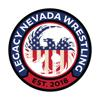 Legacy nevada wrestling logo round element view