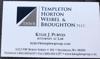 Sponsored by TEMPLETON, HORTON, WEIBEL & BROUGHTON pllc