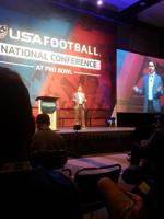 USA Football CEO Scott Hallenbeck speaks on the new developments in youth football.