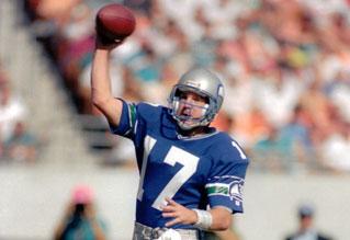 Dave Krieg Seahawks Wisconsin