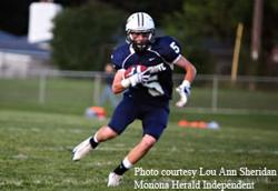 Zach Zweifel wide receiver Monona Grove