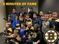 NHE Squirts with Boston Bruin Brad Marchand