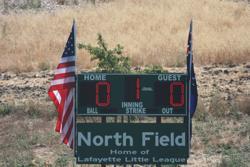 Buckeye Field Scoreboard