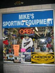 Mikes Sporting Equipment Logo
