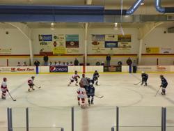 SPYHA teams on-the-ice.