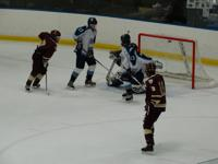 Edgewood scores a power play goal