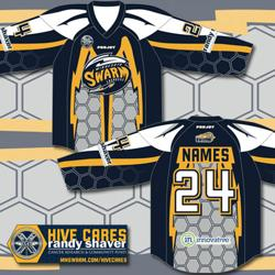 2014 Hive Cares Jersey