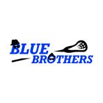 Blue Brothers Lacrosse Logo