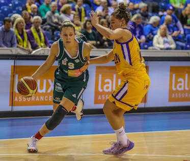 Louin has played overseas for the past three seasons since graduating from Villanova, including for Grengewald Hostert, located in Luxembourg(Photo: Courtesy of Alex Louin)