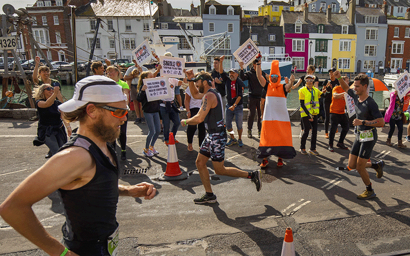 IRONMAN 70.3 Weymouth - Supporters