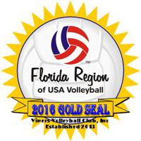 USAV Gold Seal!