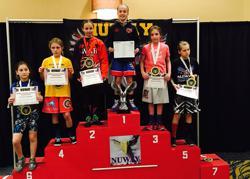 Josie Davis NUWAY Champ - 5 pins in 2:28