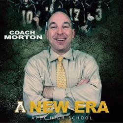 a NEW era coach morton football poster