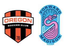 Oregon SC and Forward Madison FC