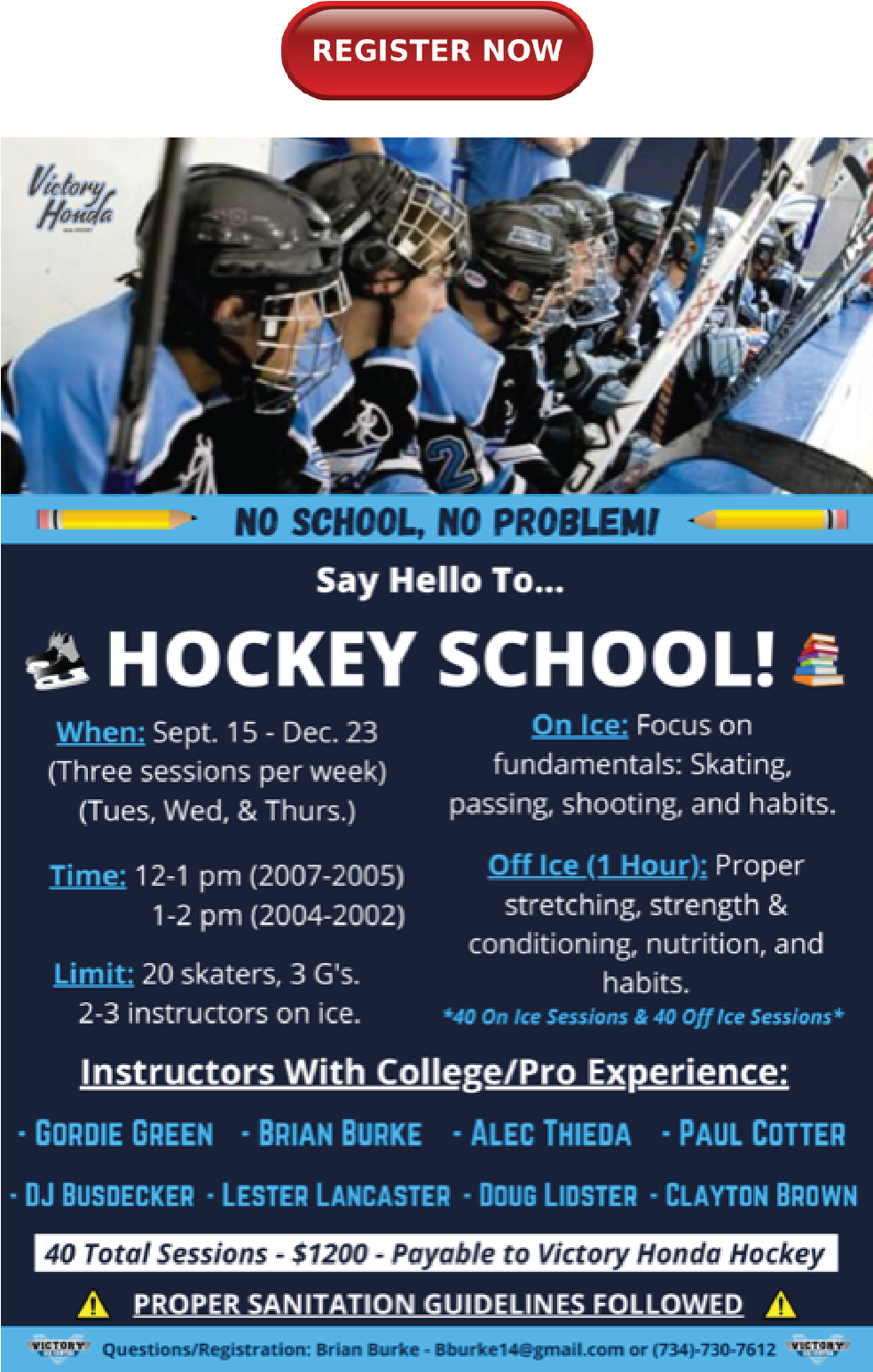 VH Hockey School
